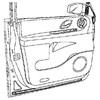 garniture de porte arrière droite d'occasion disponibles à la vente | Casse auto à Rouen